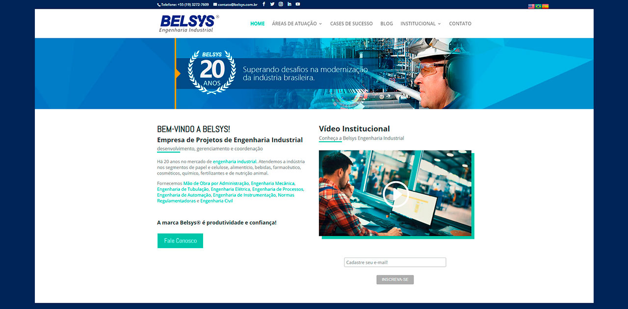 Belsys Engenharia empresa de projetos de engenharia industrial